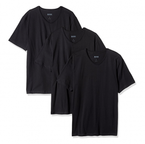 Hugo Boss Mens T-Shirt V-Neck 3-Pack