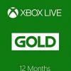 מנוי XBOX GOLD LIVE אקסבוקס לייב גולד לשנה