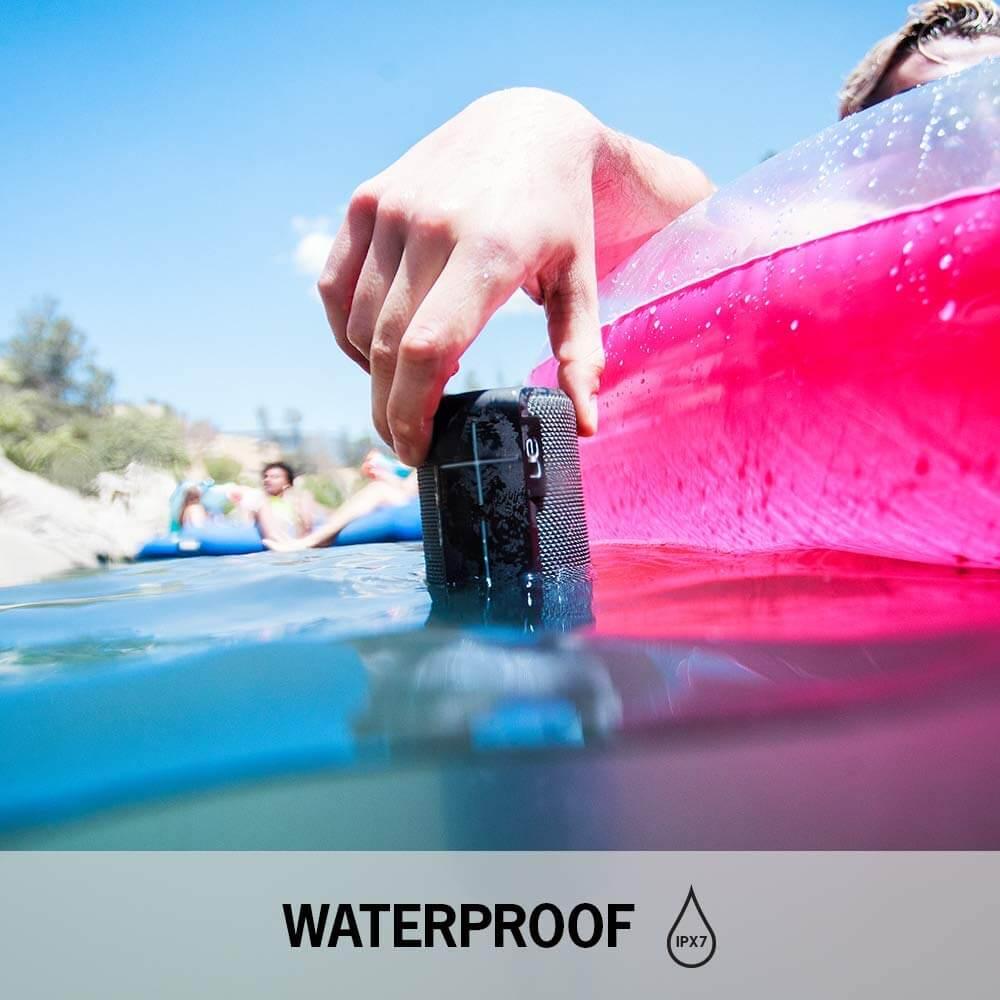רמקול נייד Logitech UE Boom 2 עמיד למים ואבק