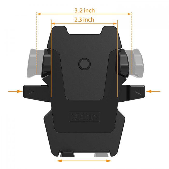 iOttie Easy One Touch 2 מעמד סמארטפון לרכב
