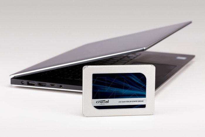 כונן SSD פנימי בנפח 500GB של Crucial דגם MX500