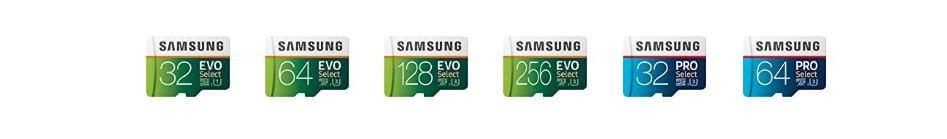כרטיס זכרון Samsung EVO בנפח 256GB