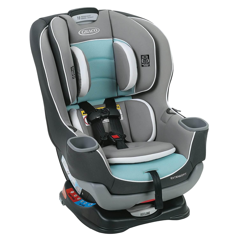 כסא בטיחות Graco Extend2fit משולב