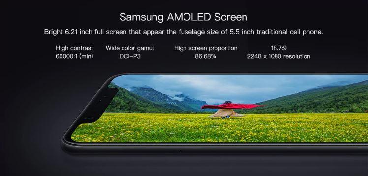 סמארטפון שיאומי Xiaomi Mi 8 6GB + 64GB גירסא גלובלית רישמית