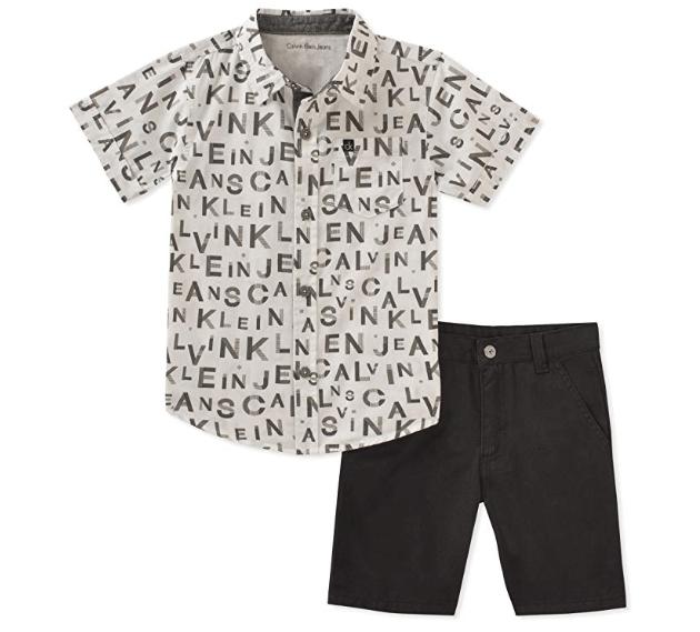 מבחר סטים של Calvin Klein מגיל 3 חודשים ועד מידה 12, קלווין קליין