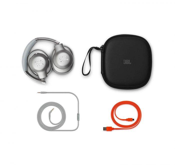 """אוזניות JBL Everest 710 Silver Over-Ear Wireless Bluetooth אמזון ארה""""ב"""