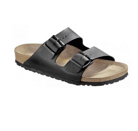 נעליים בירקנשטוק אריזונה בירקו פלור שחורות