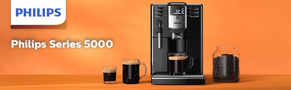 מכונת אספרסו טוחנת פולי קפה כולל מקציף Philips EP5310/10 פיליפס