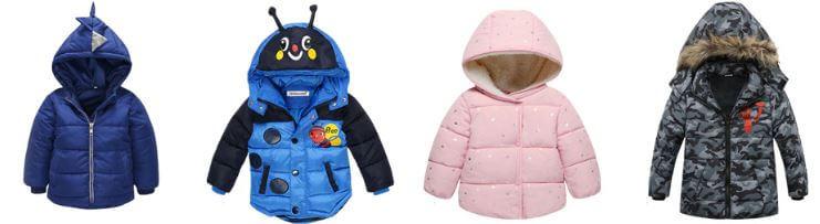 מעיל לילדים החל מ 7.51$ פלאש סייל בעליאקספרס
