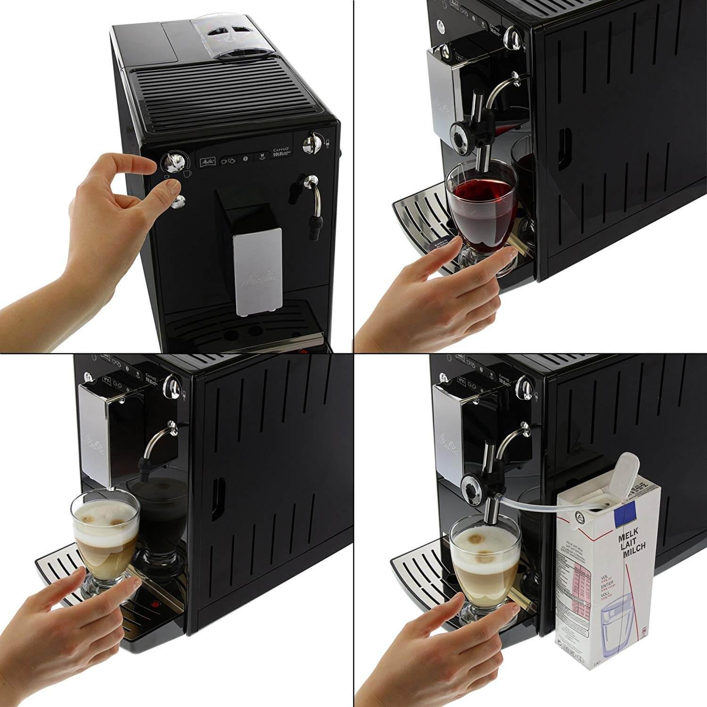 Melitta SOLO & Perfect Milk E957-101 מכונת פולי קפה מליטה