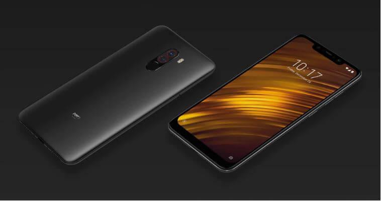 סמארטפון Xiaomi POCOPHONE F1 דגם 6GB + 64GB גירסא גלובלית