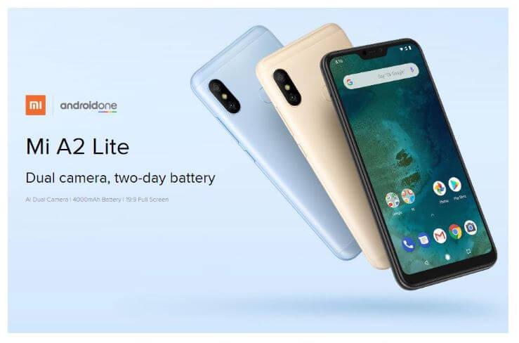 סמארטפון Xiaomi Mi A2 Lite דגם 3GB+32GB גירסא גלובלית
