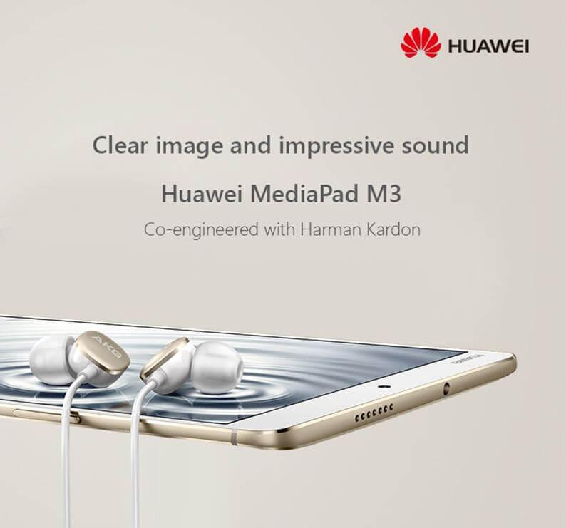 טאבלט HUAWEI M3 בגודל 8.4 אינץ' דגם 4GB/32GB צבע זהב
