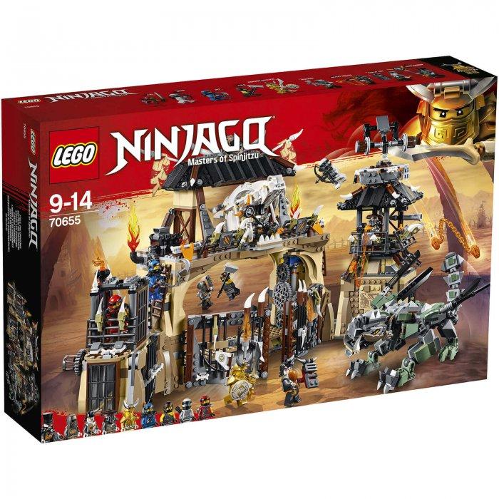 לגו LEGO NINJAGO: DRAGON PIT דגם 70655