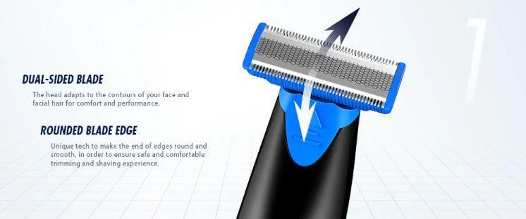 מכונת גילוח ועיצוב זקן Alfawise RHC5000 עמידה במים