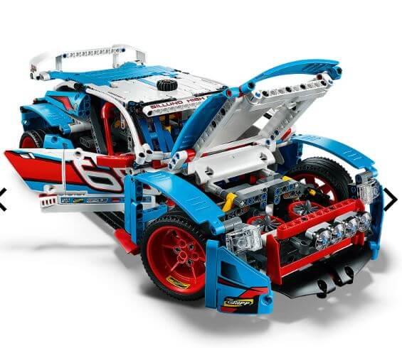 לגו מכונית ראלי כחולה LEGO Technic Rally Car דגם 42077