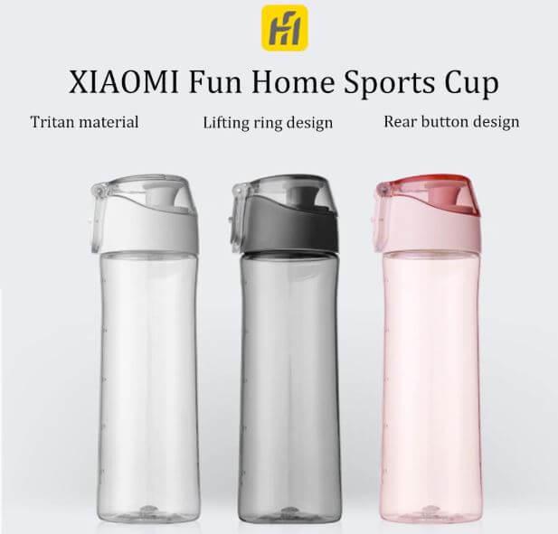 """בקבוק מים Xiaomi Fun בנפח 600 מ""""ל"""