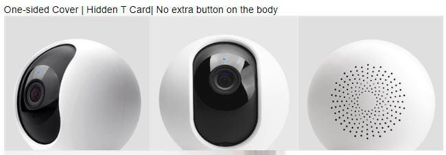 מצלמת אבטחה Xiaomi Mijia 1080P דגם חדש רזולוציה 1080P 360 מעלות