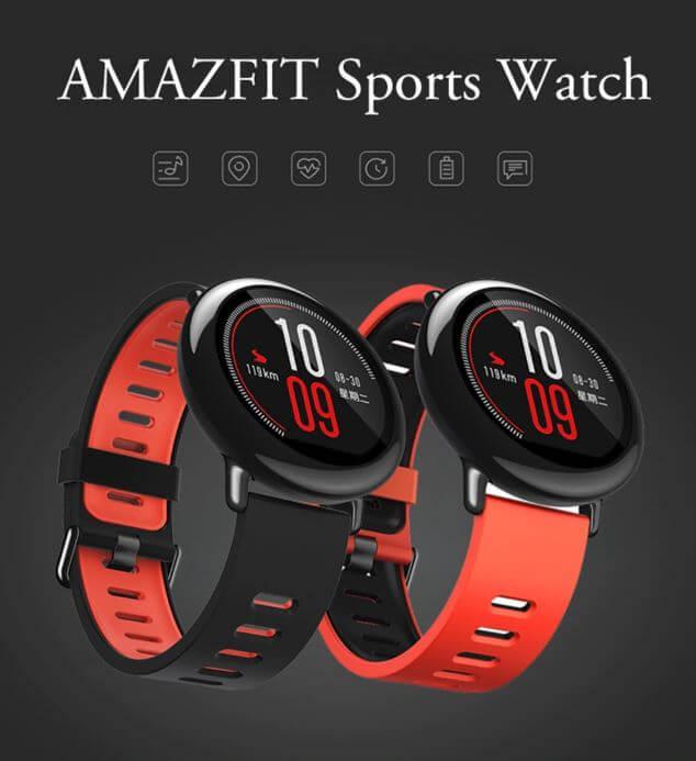 שעון חכם Amazfit של שיאומיכולל GPS