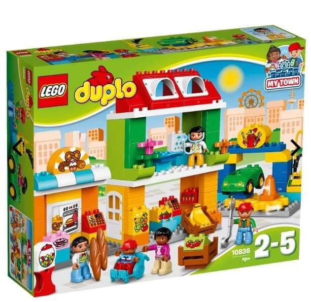 לגו דופלו כיכר העיר Lego Duplo Town Square דגם 10836