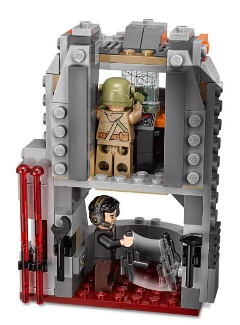 """לגו STAR WARS מלחמת הכוכבים """"הג'דיי האחרון"""" דגם 75202"""