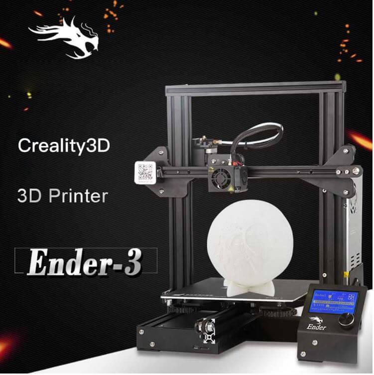 מדפסת תלת מימד Creality3D Ender קופון בלעדי לאתר!