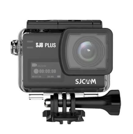 מצלמת אקסטרים SJcam SJ8 Plus באיכות 4K/30fps עם מייצב תמונה אלקטרוני