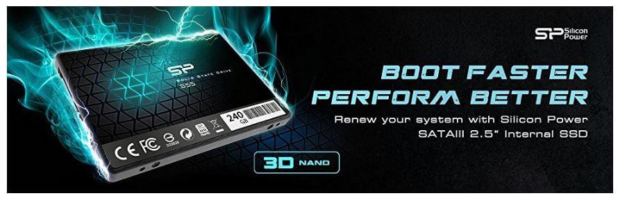 כונן SSD של Silicon Power בנפח 240GB