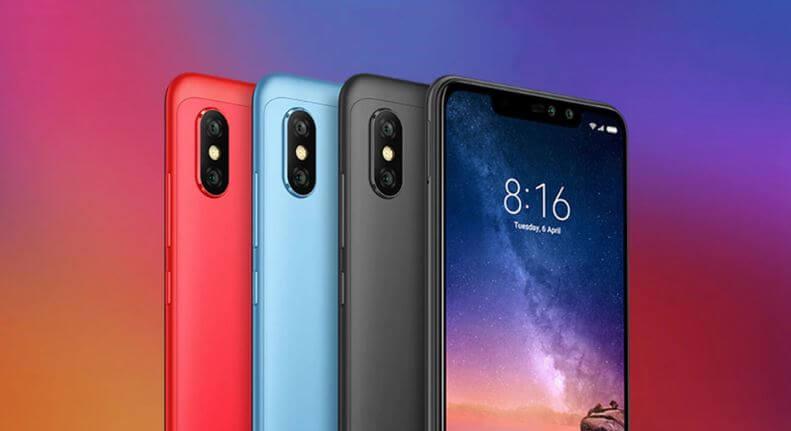 סמארטפון Xiaomi Redmi Note 6 Pro 4GB/64GB שיאומי