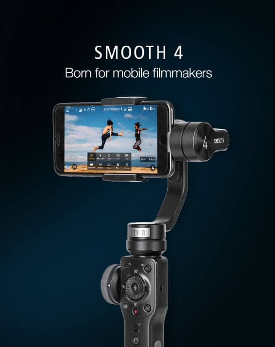 גימבל ZHIYUN Smooth 4 ב 99$ בלבד