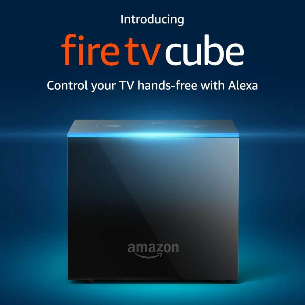 הסטרימר החדש של אמזון Fire TV Cube כולל שליטה קולית עם אלקסה