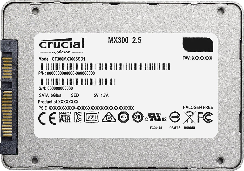 כונן SSD פנימי Crucial MX300 בנפח 275GB
