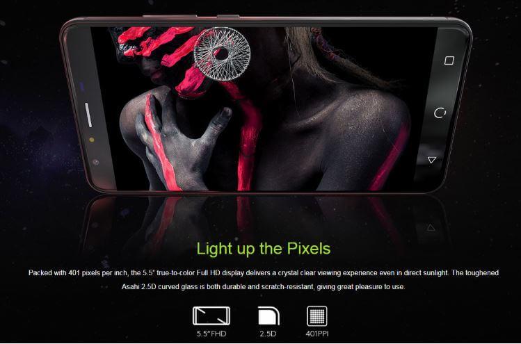 """סמארטפון NUU Mobile X5 מסך 5.5"""" דגם 3GB +32GB מתחת לרף המס"""