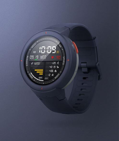 שעון חכם AMAZFIT Huami AMOLED דגם חדש ! גירסא סינית