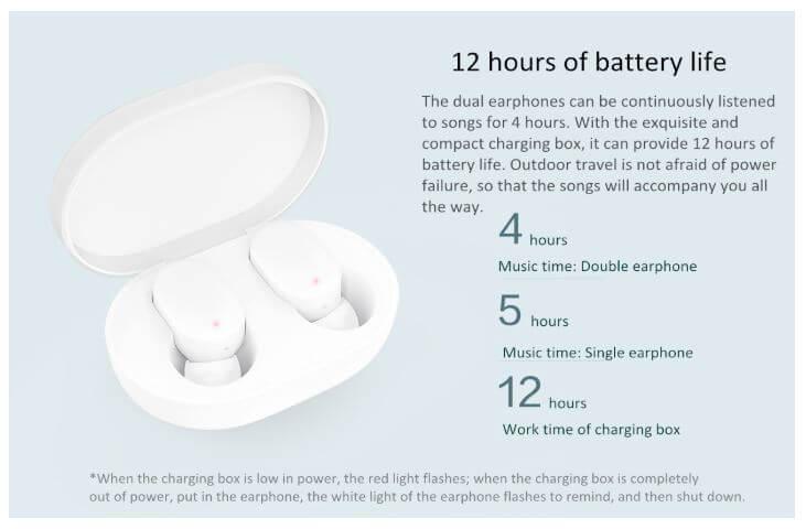 אוזניות Xiaomi Airdots TWS שיאומי