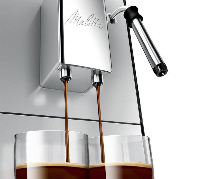 מכונת פולי קפה Melitta SOLO & Milk E953-102 כולל מקציף אמזון בריטניה
