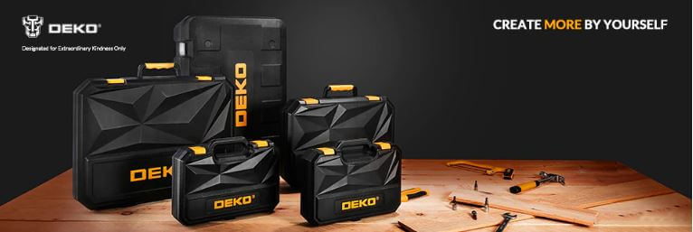 סט ארגז כלים ענק 168 חלקים DEKO