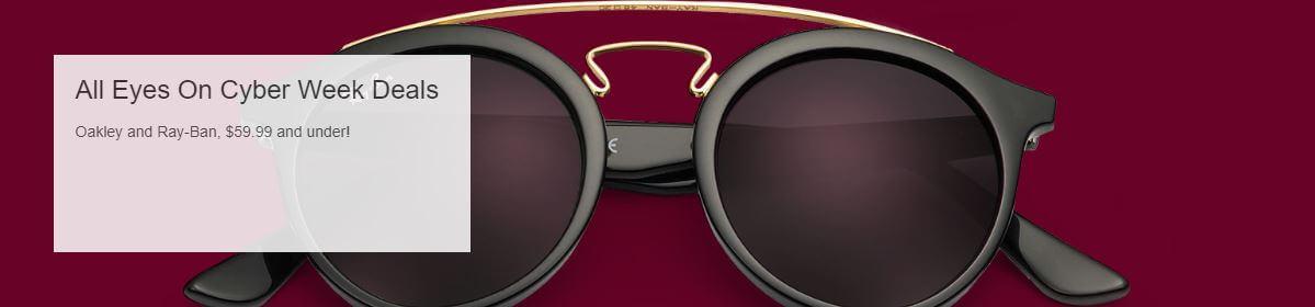 סייל משקפי שמש Ray-Ban ואוקלי הכל עד 59.9$ בלבד