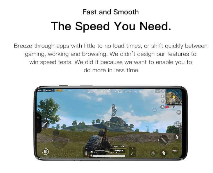 סמארטפון oneplus 6 דגם 6+64GB גירסא בינלאומית