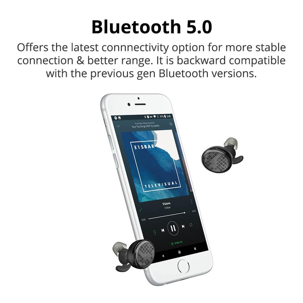 Tronsmart Encore Spunky אוזניות TWS עמידות במים בתקן IPX5 עם מיקרופון מובנה