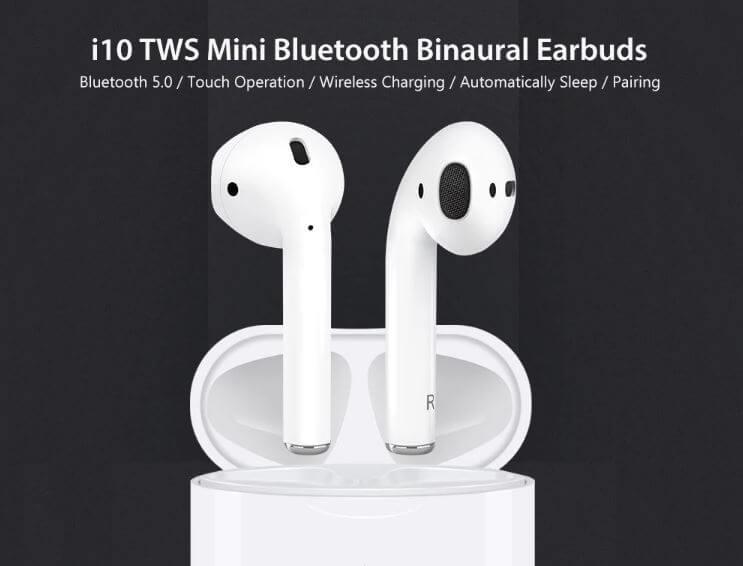 אוזניות בלוטוט' i10 TWS Mini