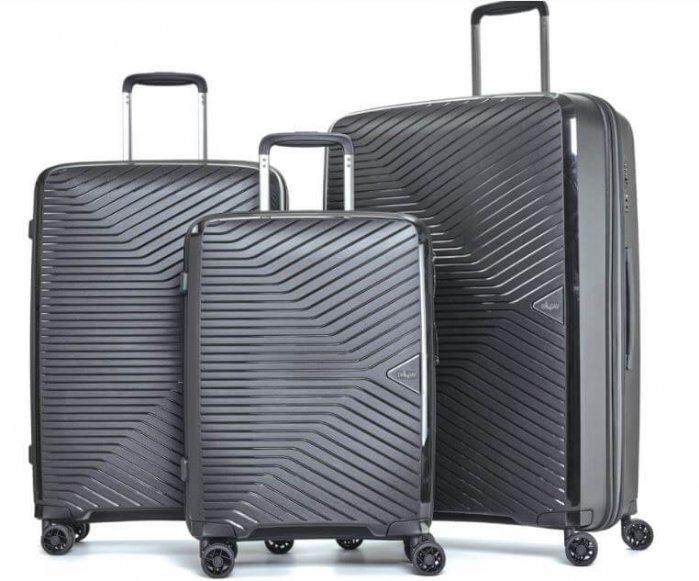 """שלישיית מזוודות Trio ULTRA LIGHT Luggage Set קלות במיוחד מבית ד""""ר גב"""