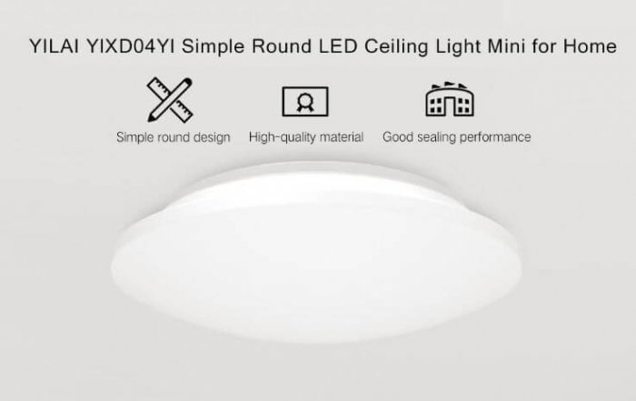 מנורת תקרה Xiaomi Yeelight YILAI YlXD04Yl שיאומי