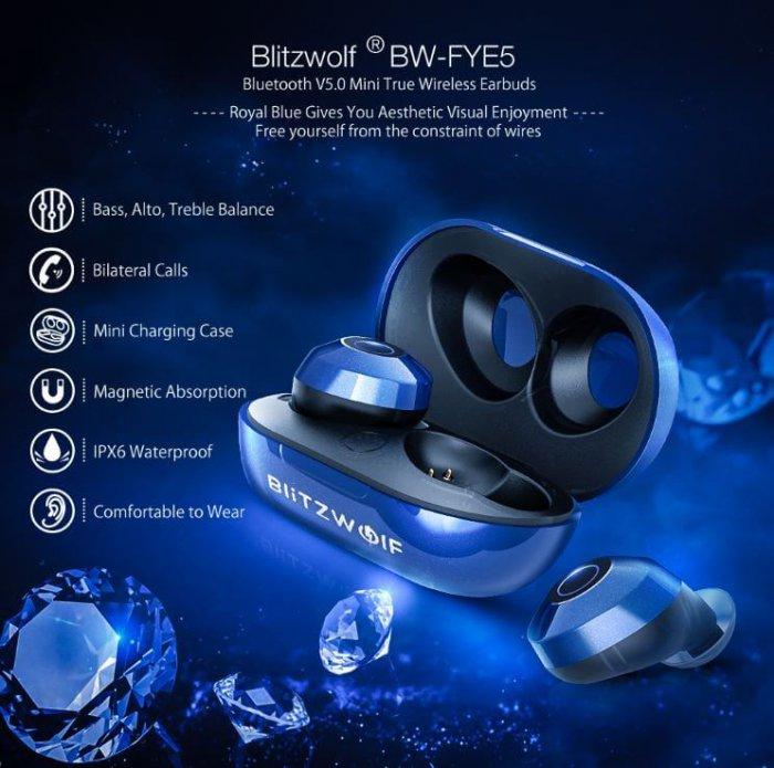 אוזניות Blitzwolf BW-FYE5
