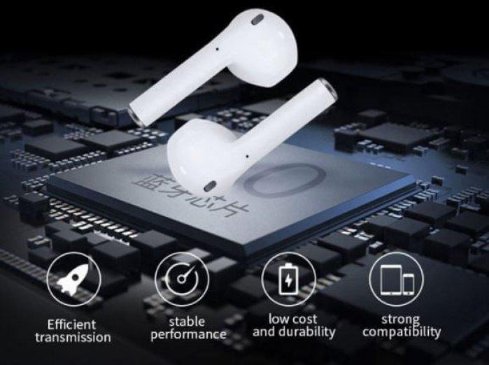"""אוזניות """"אלחוטיות באמת"""" i12 TWS דגם חדש"""
