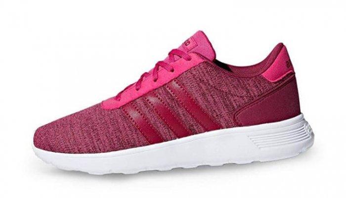 נעלי ריצה adidas Lite Racer K לילדות - צבע אדום