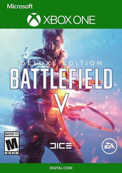 המשחק Battlefield V Deluxe Edition ל XBOX ONE קוד דיגיטלי