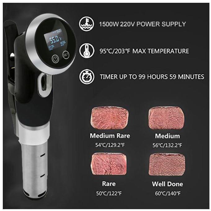 מכשיר סו ויד ביתי Biolomix 1500W