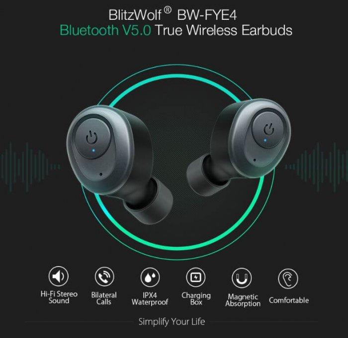 אוזניות Blitzwolf BW-FYE4 TWS