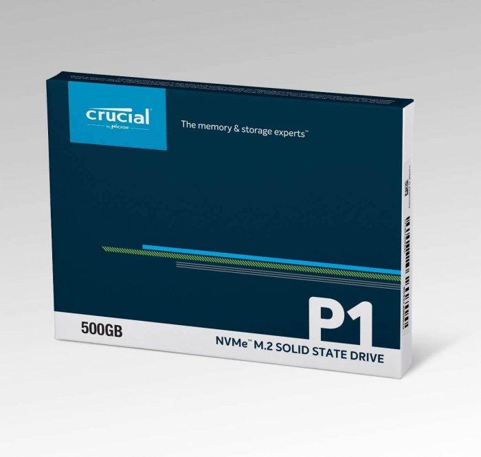 כונן Crucial NVMe PCIe M.2 SSD בנפח 500GB